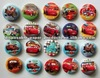 Cars Party Supplies Party Decorations Random Cars 45mm button pin badge Kids Party Bag Fillers Toys