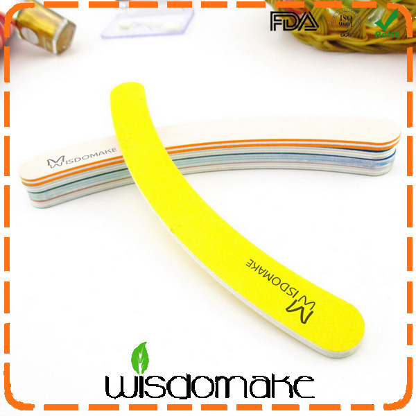 China wholesale nail files 100 180 wholesale banana magic nail file china