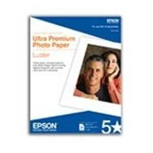 "Epson Corporation - Epson Premium Photo Paper - 24"" X 100 Ft - Luster - 1 Roll ""Product Category: Supplies/Printing Media"""