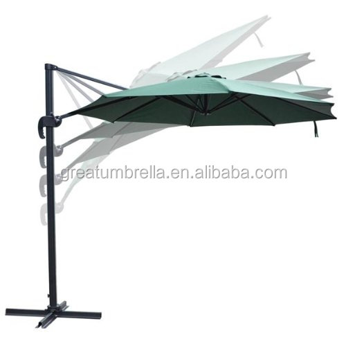 High quality outdoor metal frame roma garden umbrella 2015