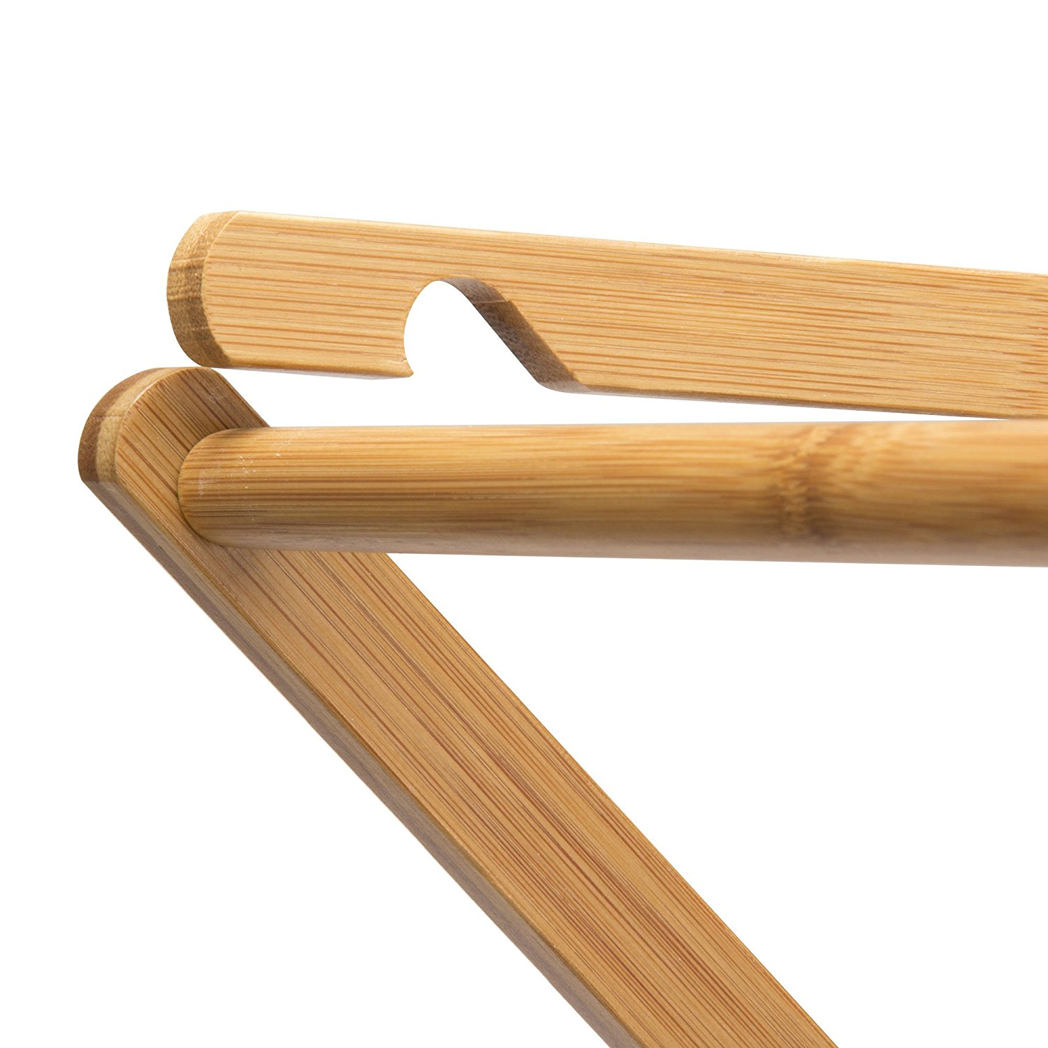 Bamboo Foldable Cloth Hanger HR-040202 Details 3