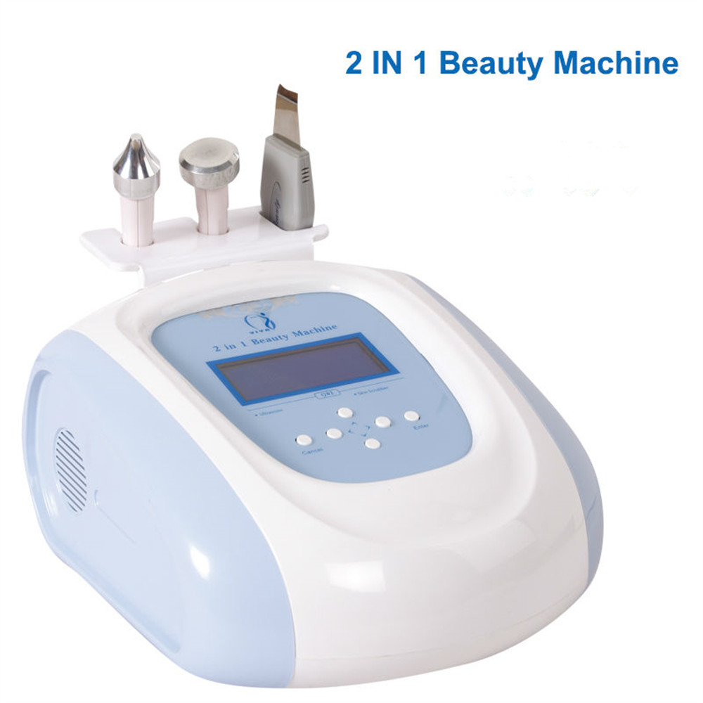 Q02(CE) Desktop Ultrasonic Face Scrubber to Remove Dead Skin