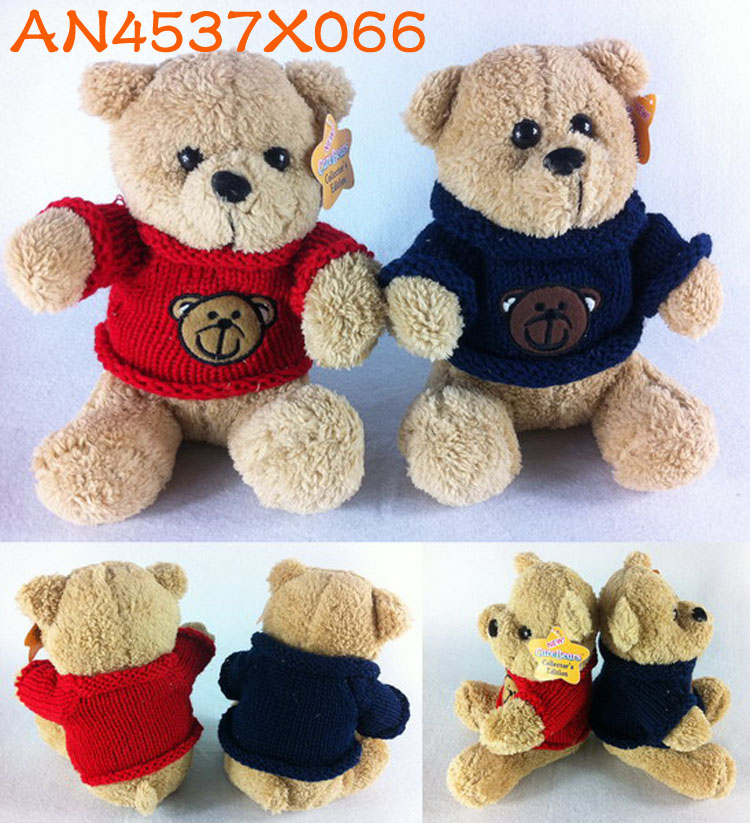 Hot sale 20cm cute <strong>plush</strong> sit on bears toys AN4537X066