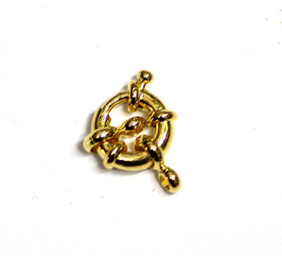 Jewelry brass spring ring clasp