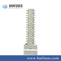 Barfuses 3 Phase Busbar System For Electrical Distribution Board 100A/125A/250A Copper MCB Circuit Break Pan Assembly
