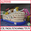 Ali inflatable Pirate ship bouncer for kids