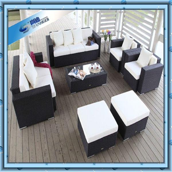 Lujo moderno rattan muebles antiguos chinos-Sofás para la Sala de ...