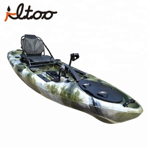 China Single Seat Sit on Top Cheap Pedal Drive Fishing Kayak