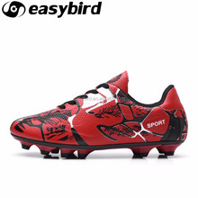high quality indoor american football shoes new style model kids soccer shoes sport boots training sneakers price cheap better