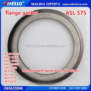 Spiral Wound Gasket Ss304 Graphite, Spiral Wound Gasket Ss304