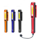 COB LED Mini Pen Light Clip Magnet USB Rechargeable Work Torch