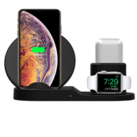 2019 new technology For airpower 3 in 1 qi wireless charger for iphone X for iphone 8 for apple watch