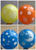 printed balloon 12 inch 5 side full printed latex balloons