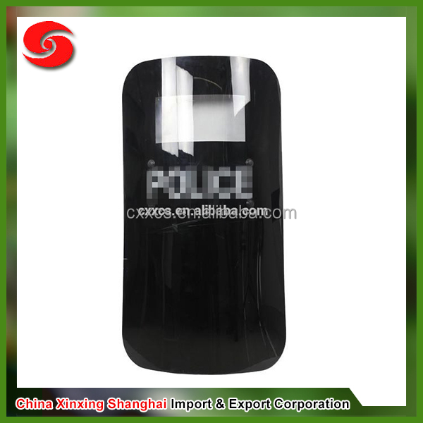 Hot selling anti riot shield, polycarbonate riot shield