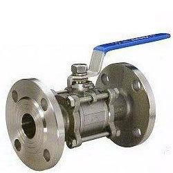 S/Steel 3Pic Ball Valve Flanged