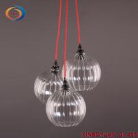 Pendant Lamp Chandelier Globe Glass Lamp Shade