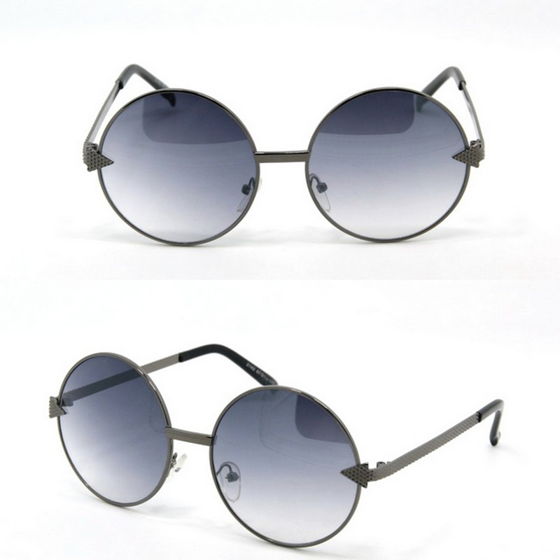 Retro fashIonable sunglasses metal frame sun glasses outdoor eyeware YJ-J031