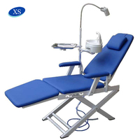 Portable folding dental chair, clinix dental chair