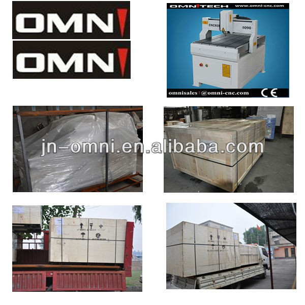 High quality OMNI 6090 3d cnc wood carving router 6090