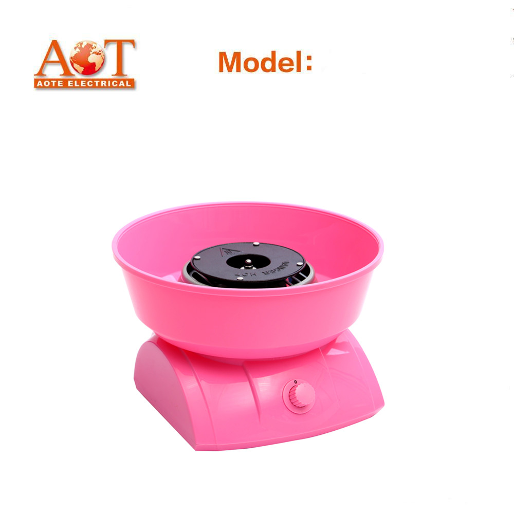 Home use electric cotton candy maker