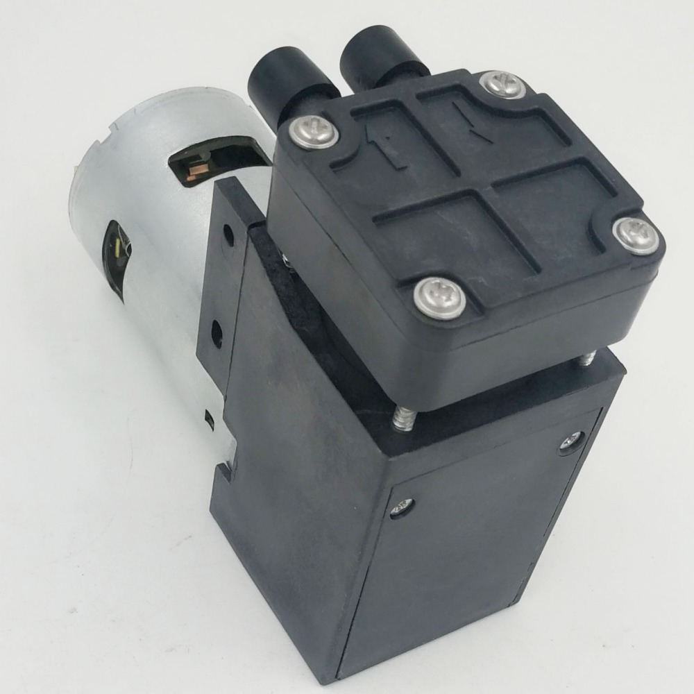 Professional customized high quality 12v piston vacuum pump for exhaust air