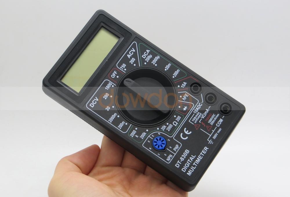 MULTIMETRE digital voltmètre ampèremètre testeur électrique DT-830B