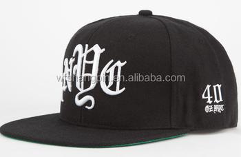 bb1096bc Embroidered Logo Custom Snapback Cap With String,Plain Snapback Hats,rope  snapback