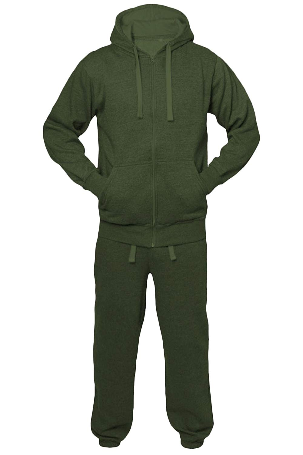 lowest price 49176 aa43c Get Quotations · Shelikes New Mens Womens Unisex Plain Jogging Sports Full  Tracksuit Set