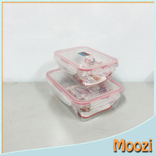 2016 Heat resistant microwave Fashion Eco-Friendly Custom Logo folding Plastic Container