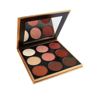 Creat Your Own Brand Free Sample Import Makeup 9 Colors High Pigmented Matte Eyeshadow Palette