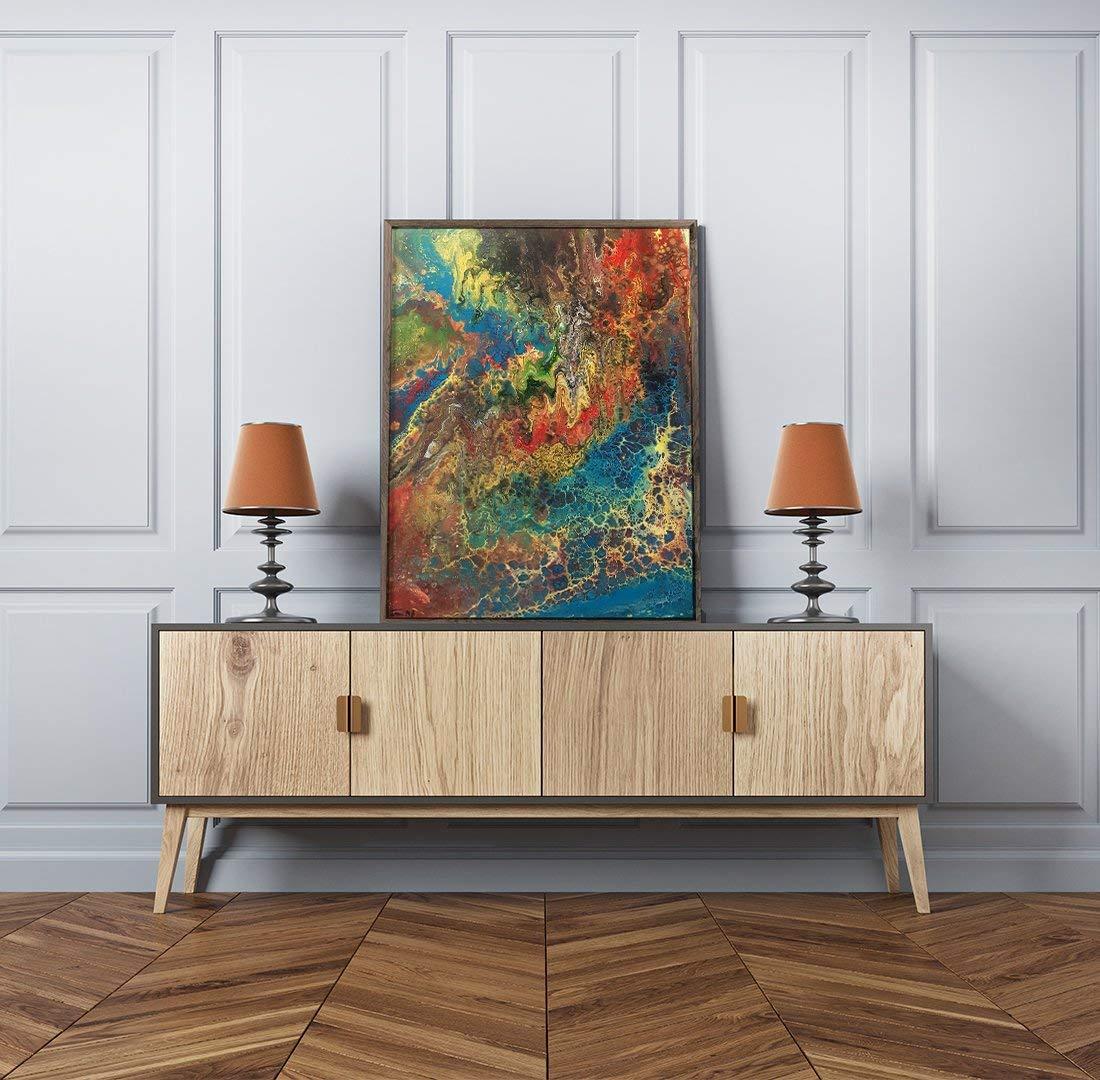 Original Modern Art, Modern Wall Art, Fluid Acrylic Art Sale, Fluid Painting, Fluid Acrylic Abstract Art, Fluid Acrylic Canvas, Fluid Art