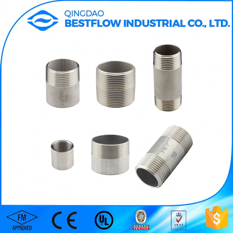 Advanced production technology all size available api 5ct drilling threading casing pipe coupling/nipple