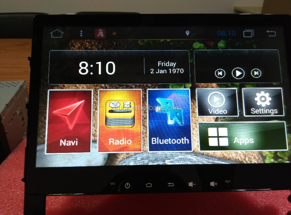 Android 4.4.4 Autoradio for Toyota Land Cruiser 200 Series GPS Navigation DVD WiFi