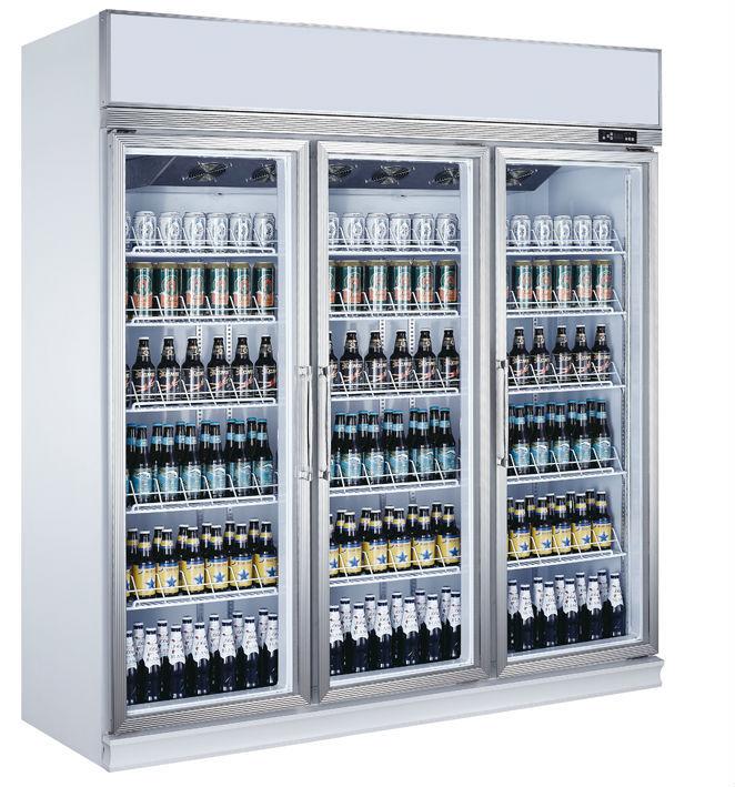 Used Glass Door Cooler 6 Door Beverage Freezerbeer Cooler Catanier