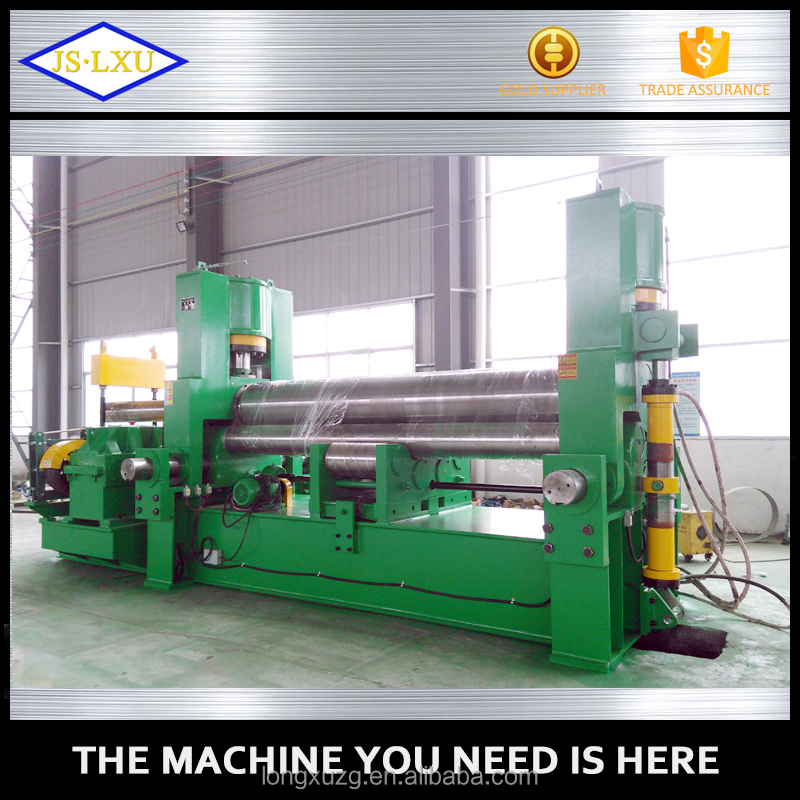 hydraulic 3 roller cold roll forming machine