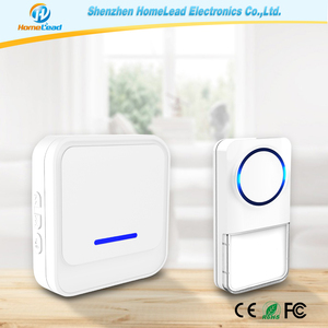 Waterproof Doorbell Button, Best Smart Door Bell for Front Door with CE, RoHS, FCC, TELEC