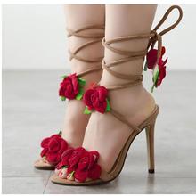 03ee27d086d8 Beauty Flowers Ladies Sandals