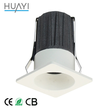 3 Year Warranty IP65 Waterproof Deep Recessed Diameter 3 Color 1.5W COB LED Downlight