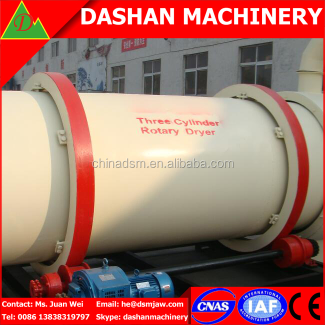 High Quality Briquette Charcoal Drying Machine / Biomass Dryer