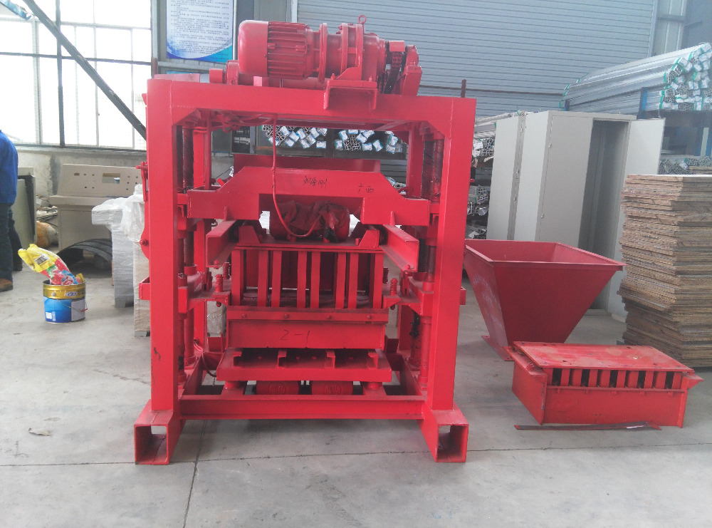 Qt4 40b2 Block Making Machine In Nigeria Brick Moulding