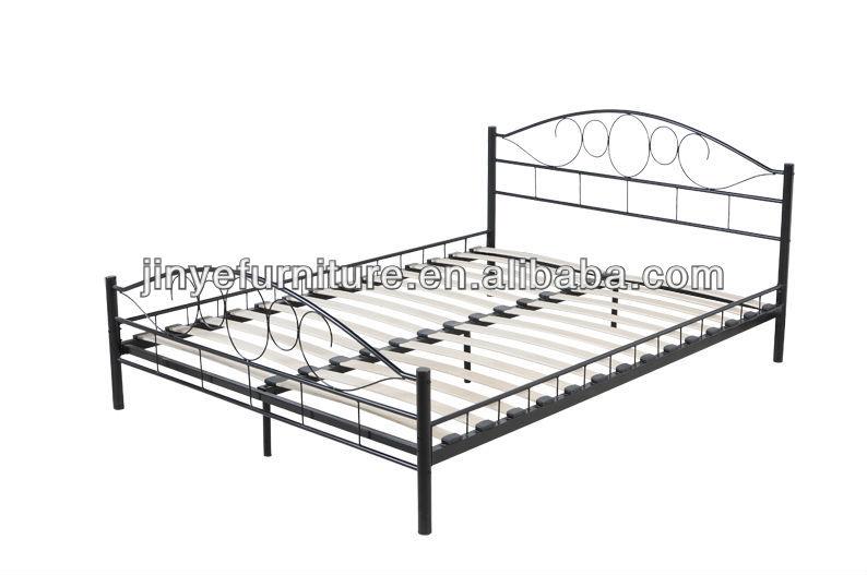 sommier lattes matelas soutien cadre lit en m tal base lit en m tal id de produit 898722532. Black Bedroom Furniture Sets. Home Design Ideas