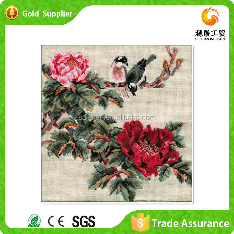 Wholesale Price Chinese Summer Wall Art 5d Crystal Diy Diamond ...
