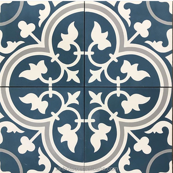 Flower Pattern Blue Ceramic Antique Floor Tiles Price Tile Morocco Buy Price Tile Morocco