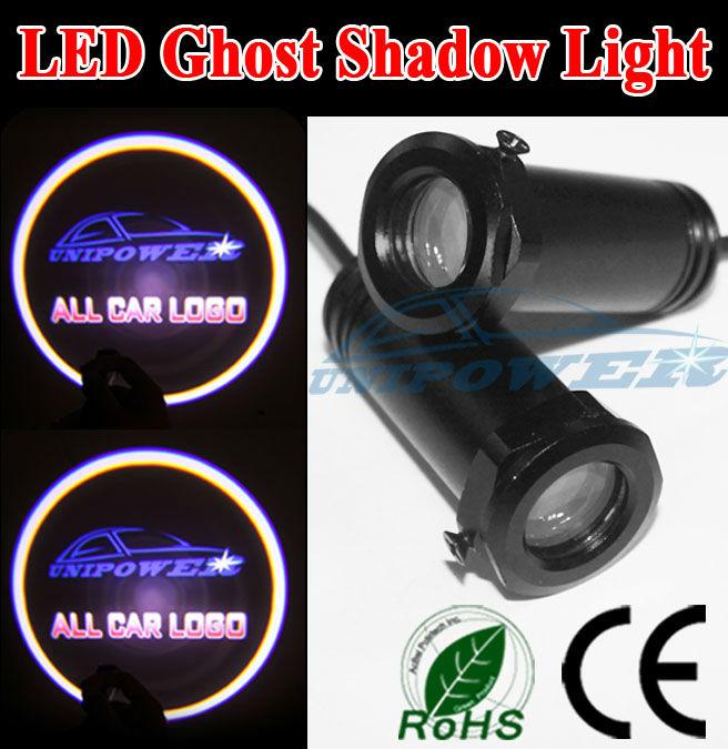 2013 Laser Door Courtesy Logo Car Led Light 12v 24v Aluminum Alloy