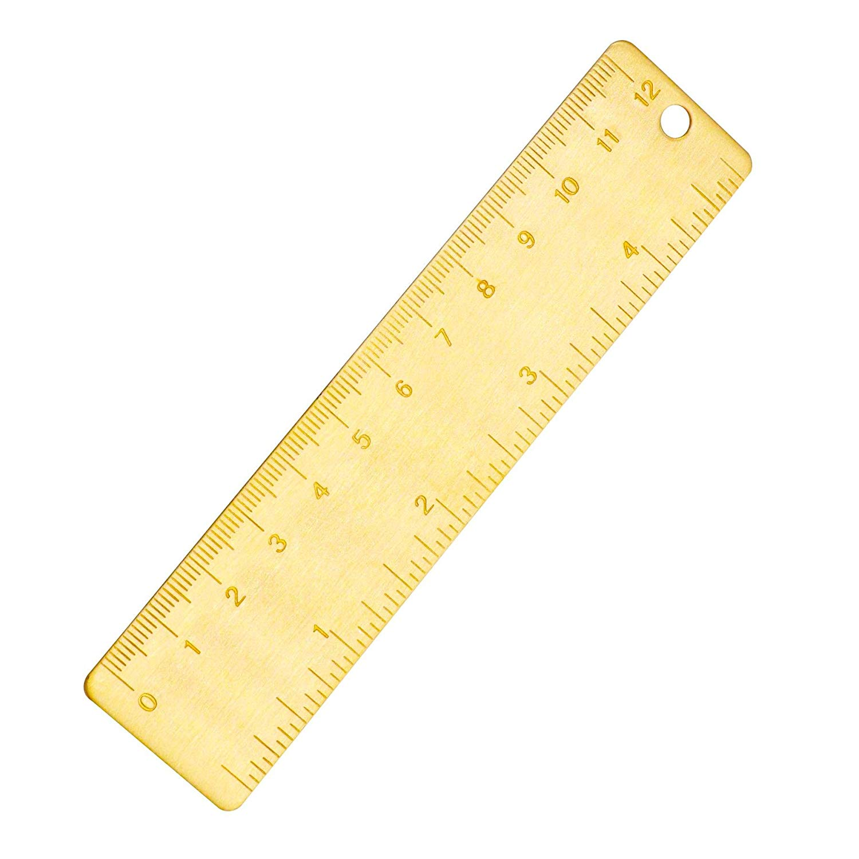 12cm steel ruler metal ruler Metal bookmarks School Supplies Drawing suppliesNJ