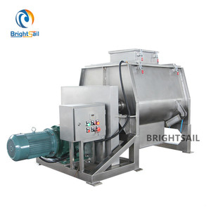 Starch powder plough shear mixer
