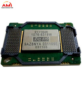 new Replacement Projector DMD chip 1076-6318W DLP Chip for Benq MP624