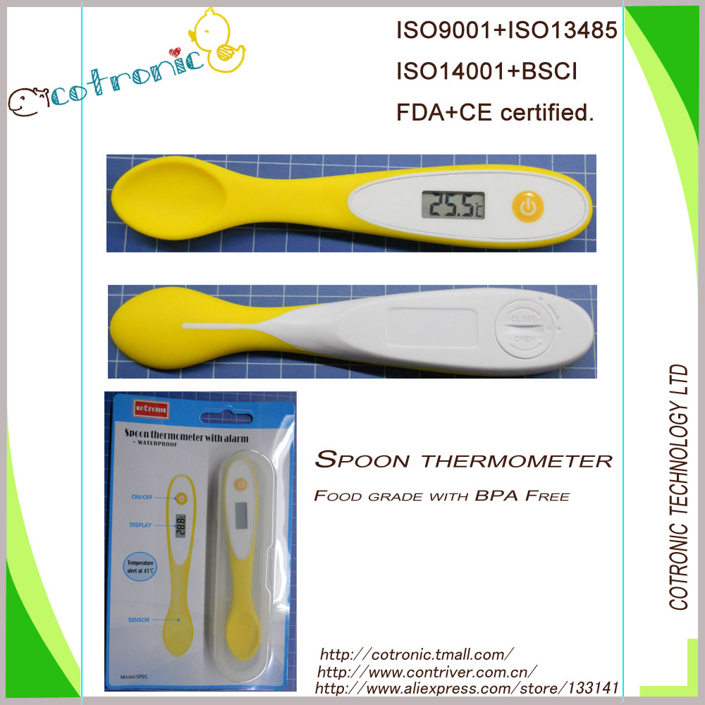 HACCP Digital Food Thermometer Waterproof with food grade approval and BPA free