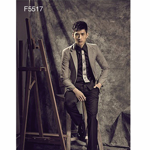 Top quality factory customized dark brown muslin modeling photography studio background