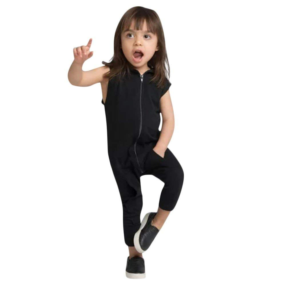 21c21c4df3 Get Quotations · Euone Boys Girls Zipper Hooded Jumpsuits Letter Playsuits  for 0-24 Months Baby